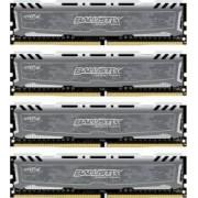 Kit Memorie Crucial Ballistix Sport LT 4x16GB DDR4 2400MHz CL16 Quad Channel