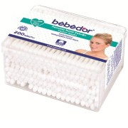 Betisoare din bumbac BEBE D'OR, 200 buc.