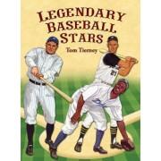Legendary Baseball Stars Paper Dolls in Full Colour by Tom Tierney