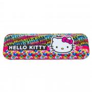 Penar etui Hello Kitty cu 4 accesorii, multicolor, 24401