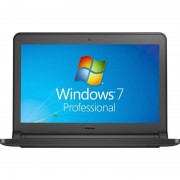 Laptop Dell Latitude 3350 13.3 inch HD Intel Core i3-5005U 4GB DDR3 128GB SSD Windows 7 Pro Black
