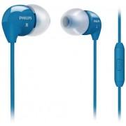 Casti Stereo Philips SHE3595BL/00, Microfon (Albastru)