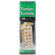 Ideal Timber Tumble Stacking Game by Ideal