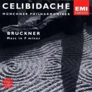 Celibidache / Muenchner Philh. - Bruckner: Mass In F Minor (0724355670229) (1 CD)