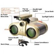 Binoculars with Pop-up Light - Night Scope