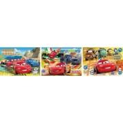 Set Clementoni Disney Cars Joc Memo De Buzunar 100 De Carti Si Puzzle 140 Piese