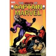 Captain Marvel: Death of Captain Marvel by Jim Starlin