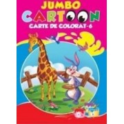 Jumbo Cartoon 6 - Carte de colorat