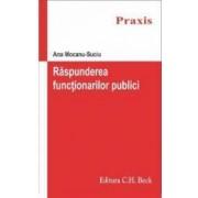 Raspunderea functionarilor publici - Ana Mocanu-Suciu