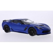 Chevrolet Corvette (C7) Z06, metálicos-blau, 2014, Modellauto, Fertigmodell, AUTOart 1:18