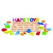 Hape E1502 - Puzzle con las letras del abecedario [Importado de Italia]