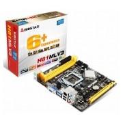 Tarjeta Madre Biostar micro ATX H81MLV3, S-1150, Intel H81, USB 3.0, 16GB DDR3, para Intel