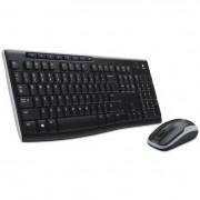 Mk270 Wireless Combo, Keyboard/mouse, Usb, Black