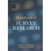 Handbook of Survey Research by Peter V. Marsden