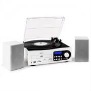 Majestic / Audiola TT38, sztereórendszer, LP, CD, fehér (TT-38-CD/TPWH)