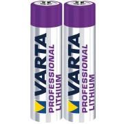Baterii Varta AA Lithium, 2900mAh 2 Buc