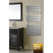 BRH Obsidian Törölközőszárítós Radiátor 600x780 Íves Fehér
