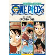 One Piece: Water Seven 34-35-36, Vol. 12 (Omnibus Edition) by Eiichiro Oda