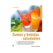 Libro zumos y bebidas saludables (L)