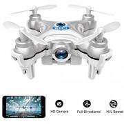 Il gadget perfetto per tutti, Volarvin® - Super Micro NANO Quadcopter RC Drone. E 'così piccolo che si può volare e giocare con lui da nessuna parte. A soli 6CM x 6cm x 2cm questa è la macchina volante ULTIMATE