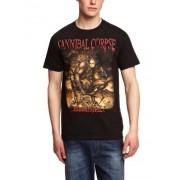 Playlogic International Camiseta para hombre, talla 43/44, color negro