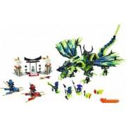 Set Constructie Lego Ninjago Atacul Dragonului Morro