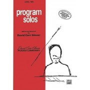 Program Solos (Various Composers) by CRC Laboratories Department of Anatomy and Physiology David Glover