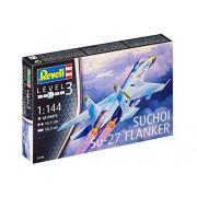 Revell - 03948 - Maquette - avion de chasse Su-27 Flanker - Échelle 1/144 - 48 pièces