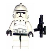 LEGO Star Wars Minifig Clone Trooper Episode III