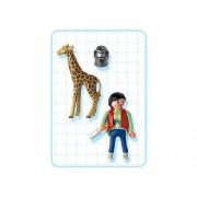 Playmobil 3253 & Man Giraffe Set
