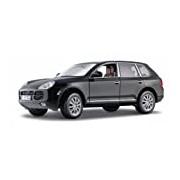 Maisto 31675 - Modellauto 1:18 Porsche Cayenne, metallic schwarz