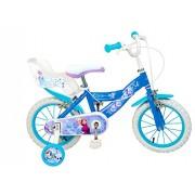 """Toimsa - 010682 - Vélo Pour Fille - Frozen - La Reine Des Neiges - Bleu/blanc - 14"""""""
