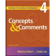 Concepts and Comments by Patricia Ackert