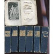 Voyage Du Jeune Anacharsis En Grece, Vers Le Milieu Du Ive Siecle Avant L4ere Vulgaire - En 7 Volumes - Manque Volume 3.