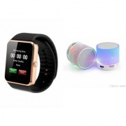 ZEMINI Music Mini Bluetooth Speaker(S10 Speaker) And GT08 Watch for ASUS ZENFONE ZOOM