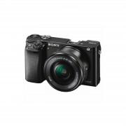 Sony Alpha a6000 + 16-50mm Mirrorless Digital Camera Black fotoaparat + objektiv lens ILCE-6000LB.CEC