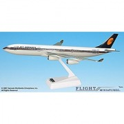 Jet Airways (93-Cur) Airbus A340-300 Airplane Miniature Model Plastic Snap Fit 1:200 Part# AAB-34030H-022