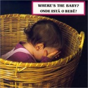 Where's the Baby?/ Onde esta o bebe? by Cheryl Christian