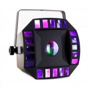 Ibiza LED-Combomoon DMX RGBWA controllo musicale