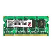 Transcend JM667QSU-1G Mémoire PC JM DDR2 1 Go 667 MHz SO-DIMM CL5