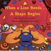 When a Line Bends...a Shape Begins by Rhonda Gowler Greene