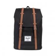 Herschel Supply Co. Herschel Supply Co Retreat Backpack - Black/Tan Synthetic Leather