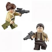 LEGO Star Wars - Resistance Solider minifigures with weapon from 75103.