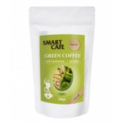 Cafea verde macinata decofeinizata cu cardamom Bio