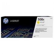 HP 508X originele high-capacity gele LaserJet tonercartridge