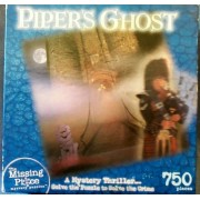 Missing Piece Mystery Puzzle - Piper's Ghost 500 Pieces by N/A