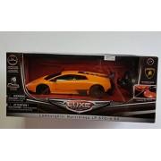 "Luxe Radio Control Black Lamborghini Murcielago LP 670-4 SV, 7"" Full Fuction Radio Controlled, Gloss"