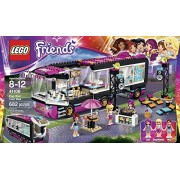LEGO Friends Pop Star Tour Bus Music (682pcs) Figures Building Block Toys