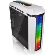 Thermaltake Versa C22 Mid Tower Case with Side Window and RGB Led - White