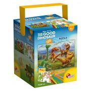 Lisciani Giochi 52899 - Puzzle in a Tub Maxi Good Dinosaur, 120 Pezzi, Multicolore
